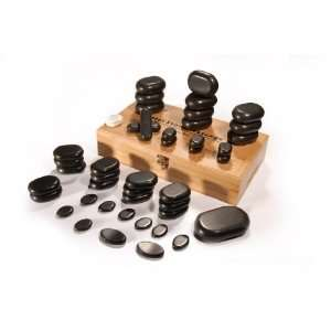 Basalt Lava 45 piece Hot Stone Massage Set