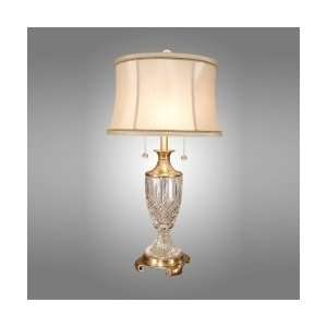 Dale Tiffany GT701206 Maderia Table Lamp, Antique Brass