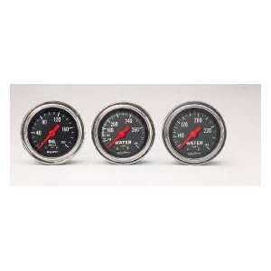 Auto Meter 2422 0 200 OIL PRESSURE GAUGE Automotive