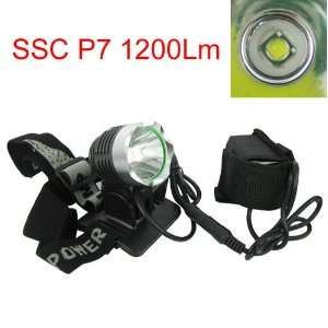 Waterproof SSC P7 1200 Lumen LED Light Outdoor Bicycle