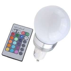 Remote Control Color LED Light Bulb for Party Bar