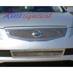UP Nissan Altima Coupe Polished Wire Mesh Grille   T Rex Automotive