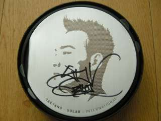 BigBang Taeyang Solar International Autographed CD DVD