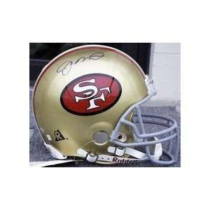 Joe Montana, San Francisco 49ers Official Riddell Pro Line Autographed