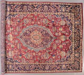 10x13 PERSIAN KASHMAR ORIENTAL HAND KNOTTED WOOL AREA RUG CARPET WITH