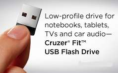 SanDisk 4GB 4G Cruzer Fit Micro USB Flash Pen Drive Memory Stick