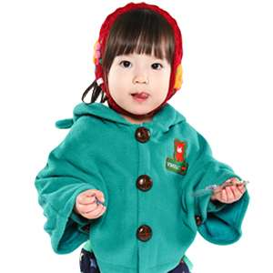 Made in Korea Star Cape Baby Boy Girl Infant Warm Clothing / JK 302