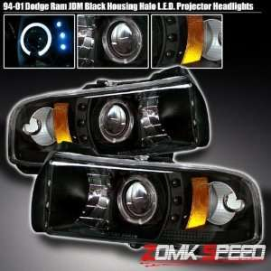 94 01 Dodge Ram Led Black Projector Headlights 94 95 96