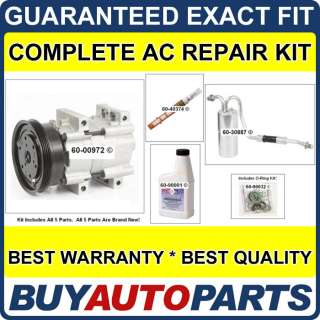 NISSAN QUEST AC REPAIR KIT NEW COMPRESSOR 1994   1998
