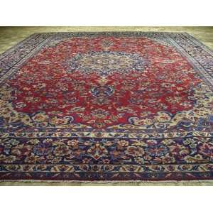 Floral Design Hand Knotted Wool Persian Area Rug G204