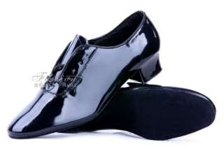 New Mens Black Shoes Rock Retro Dance Swing Club Costume Halloween SZ