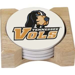 NCAA Tennessee Volunteers Absorbent Coaster Four Pack Gift