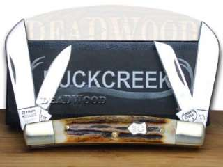 BUCK CREEK Stag Congress Pocket Knife Knives Germany