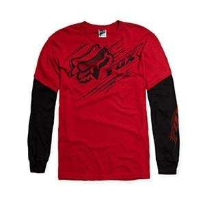 Fox Racing Speedy 2Fer   Large/Red Automotive