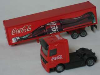 Coca Cola Coke Diecast Metal Container Trailer Truck