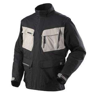 Fox Racing Panther Jacket   Large/Black/Grey Automotive