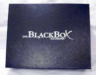 7920 the black box illusions magic trick many secrets set