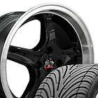 17 8/9 Black Cobra Wheels Nexen Tires Rims Fit Mustang® 79 93