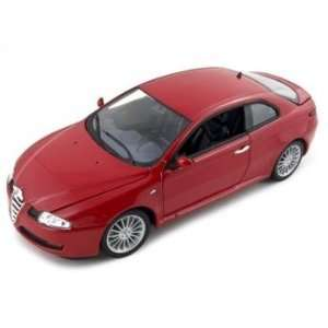Alfa Romeo Gt Coupe Diecast Car Model 1/18 Red Toys