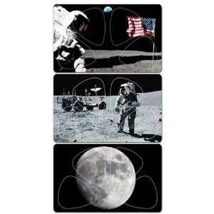 PikCARD MP4 3P Full Moon / Moonwalk / US Flag Pick Card
