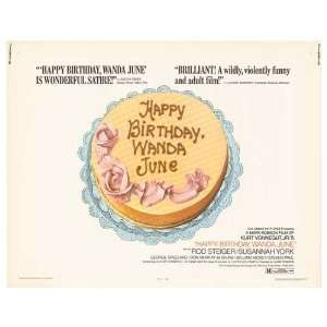 Happy Birthday, Wanda June Movie Poster, 28 x 22 (1971
