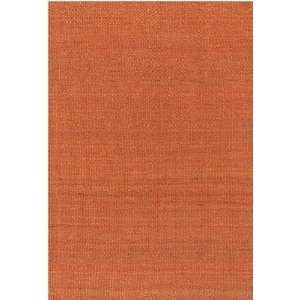 x106 Amela Hand woven Rug, Orange, Carpet