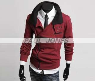 Trendy Mens Slim Designed Coat Jacket 4Color 4Size W07