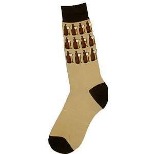 Foot Traffic Mens Novelty Socks Beer On The Wall