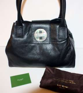 KATE SPADE Bexley Anisha BLACK Leather Shoulder Bag Satchel WKRU0923