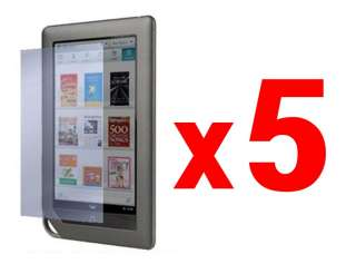 x5 Anti Glare / Fingerprint Screen Film  Nook Tablet