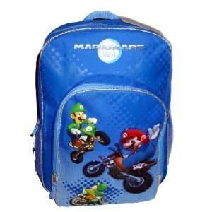 Nintendo Super Mario Bros. Wii Large School Backpack Bag