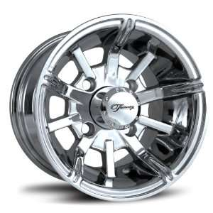 Fairway Alloys FA117 Platinum Hand Polished Golf Car Wheel