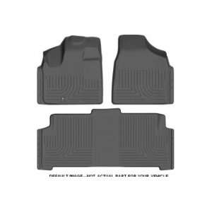 2012 Toyota Prius V wagon Front and Rear Floor Liners (3