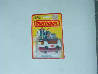 STRETCHA FETCHA MOC MATCHBOX SUPERFAST LESNEY ENGLAND RED BOTTOM GOLD