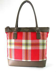 295 Kate Spade Highlands Bon Shopper Tote laptop Bag NWT orange