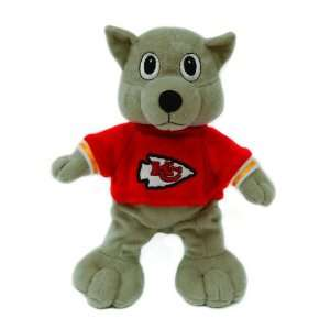 Pack of 2 NFL Kansas City Chiefs Plush Mascot Beanie