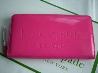 Kate Spade Big Apple Clutch Gifting Pink Neda Wallet