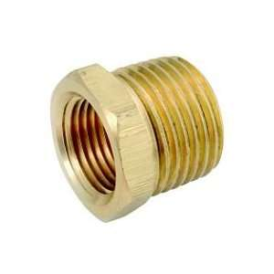 Anderson Metals Corp 1/2X1/8 Brs Hex Bushing (Pack Of 5 Brass Pipe