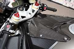 BMW S1000RR CARBON FIBER FUEL GAS TANK COVER FAIRING