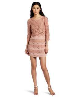 McGinn Womens Olivia Lace Dress Clothing
