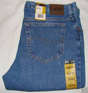 New LEE REGULAR Fit Boot Cut JEANS Men`s All sizes