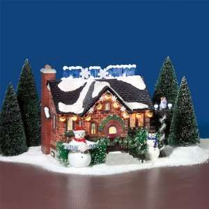 SNOWMAN HOUSE Snow Village House Dept 56 NEW Christmas