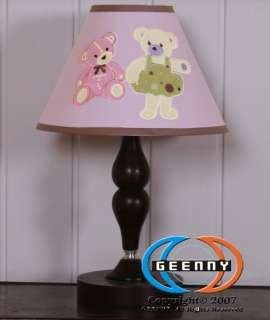 Lamp Shade for Baby Girl Teddy Bear Bedding Set GEENNY