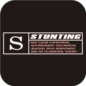 Stunting funny Vinyl Die Cut Decal Sticker Automotive