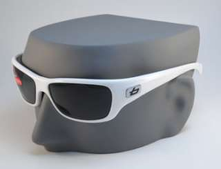Brand New BOLLE CROWN POLARIZED Sport Sunglasses   White / Polarized