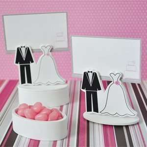 Bride Groom Place Card Wedding Favors Boxes with
