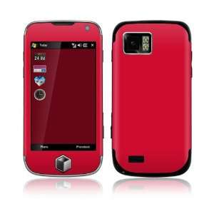 Samsung Omnia II (i800) Skin Decal Sticker   Simply Red
