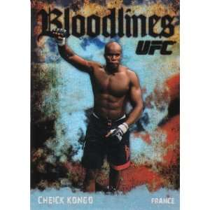 UFC Trading Card Bloodlines Foil Insert  Cheick Kongo (France) #BL 12