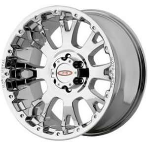 Moto Metal MO956 20x10 Chrome Wheel / Rim 5x5 with a  12mm Offset and