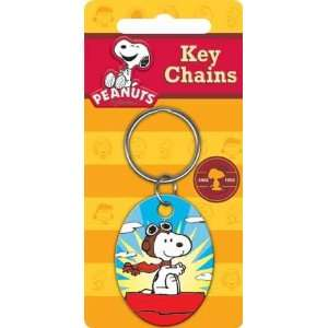 Peanuts Snoopy Flying Ace Keychain Toys & Games